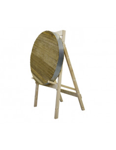 JVD Stand Wood 4-Leg Square for Target