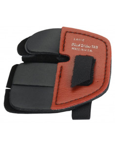 Black Widow BW-250 Red Leather Finger Tab