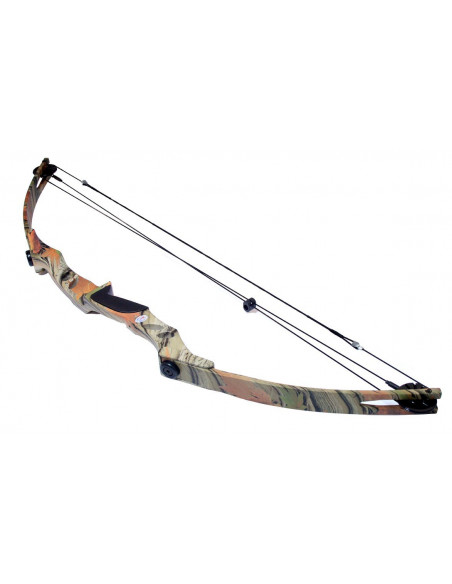 Bow 55 pounds pulley - camouflage