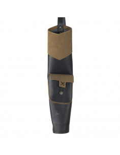 White Feather Back Quiver Hurricane Brown