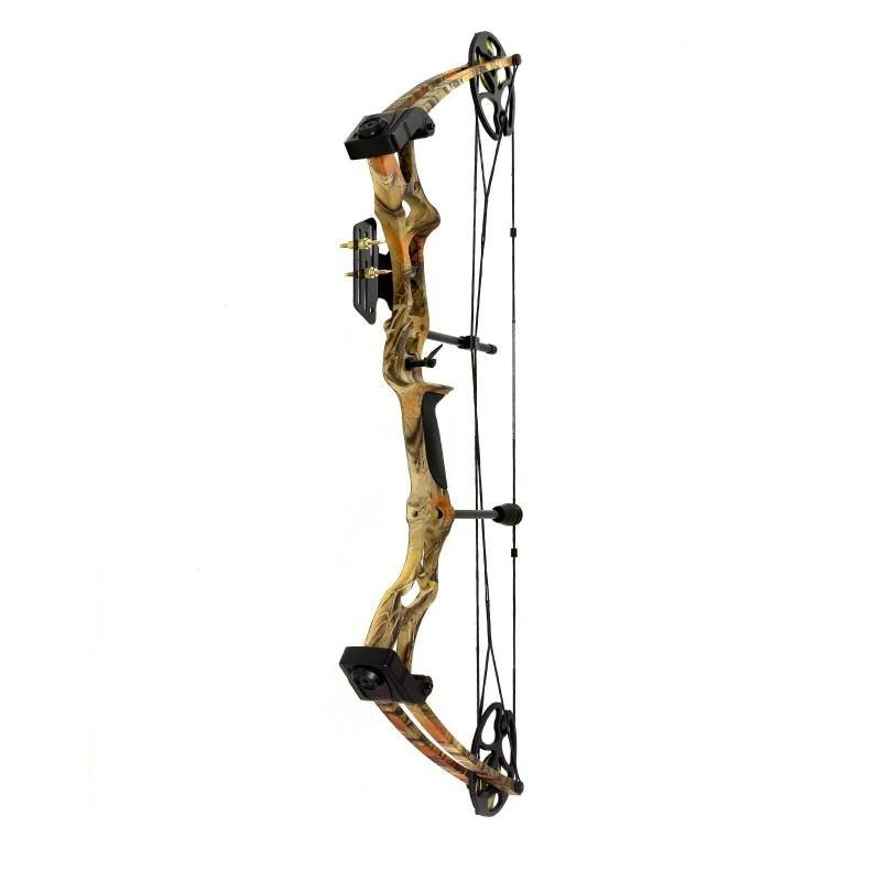 Compound bow 50 to 75 lbs camouflage - Hattila