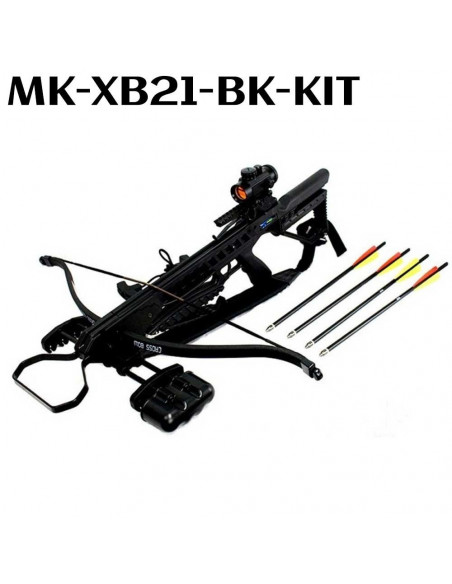 Pack Arbalète MK-XB21 175 Livres + red dot + carquois