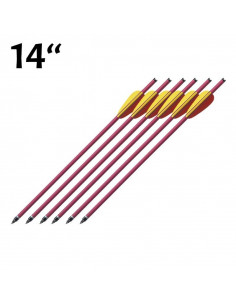 Pack of 6 arrows 14 inches...