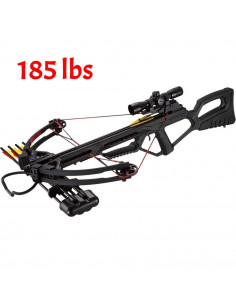 Pack Crossbow MK-XB21 175 lbs + red dot + quiver