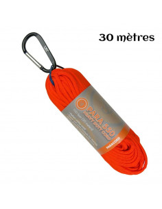 Paracord hank 550 orange 30m