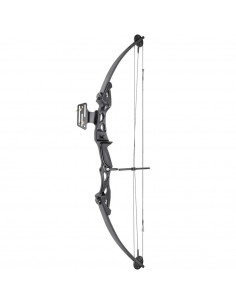 Bow 55 pounds pulley - black