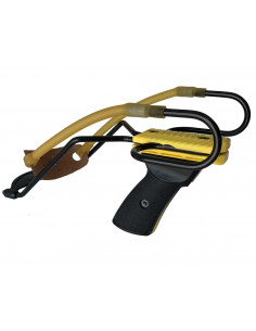 Slingshot Primo Yellow with wrist rest