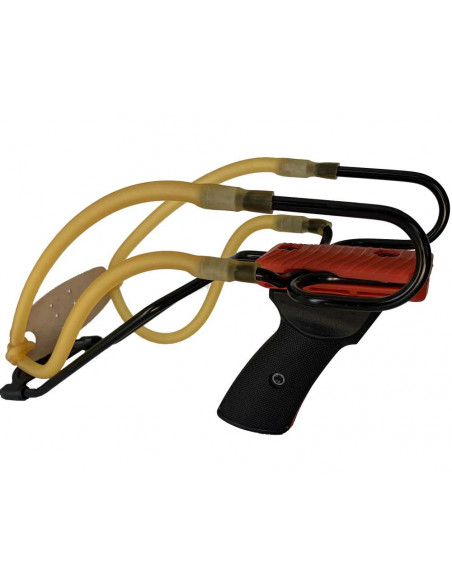 Slingshot Primo 2 Red Double elastic with wrist rest