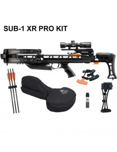Crossbow Mission SUB-1 XR Pro-Kit Black 200 lbs 410 FPS