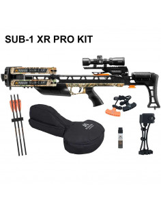 Arbalète Mission SUB-1 XR Pro-Kit Camo Real Tree 200 lbs 410 FPS