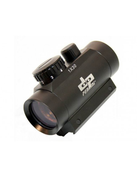 Riflescope RED DOT red 1x30 rail 11mm for crossbow