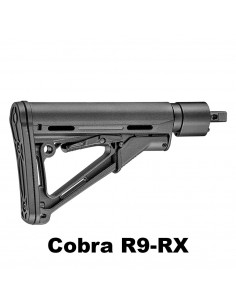 Tactical stock for Cobra R9 and RX
