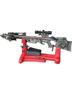 Extensible red shooting support for crossbows