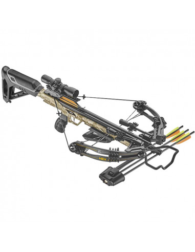 Camo HEX-400 Compound Crossbow 210 lbs