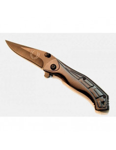 7-inch folding knife dark gray