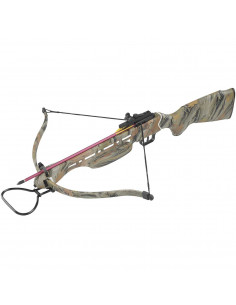 autumn camouflage crossbow...