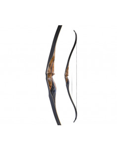 Ragim One Piece Fieldbow Black Hawk Recurve Bow