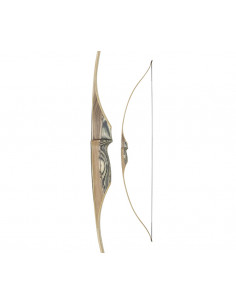 Arco lungo White Feather Petrel Clear