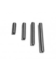 Set of Conquest threaded stainless steel screws 5-16/25