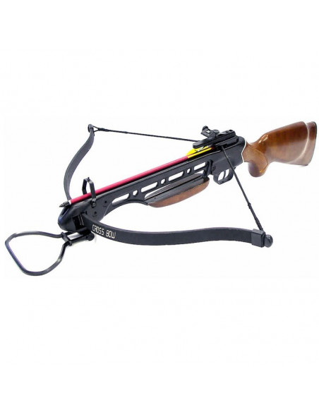 Crossbow 150 lbs with wooden stock