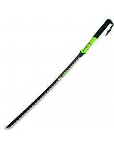 Machete Katana Zombie War 39.5 inches (100cm) with rope handle and case
