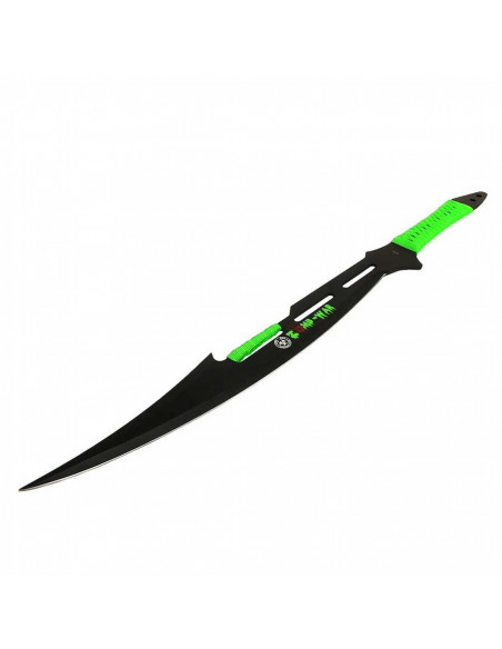 Machete Full Tang Zombie War 27 inches (69cm) with rope handle and case