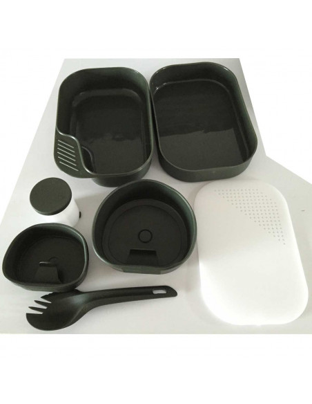 Kit Plates / Cutlery Camper 7 pieces