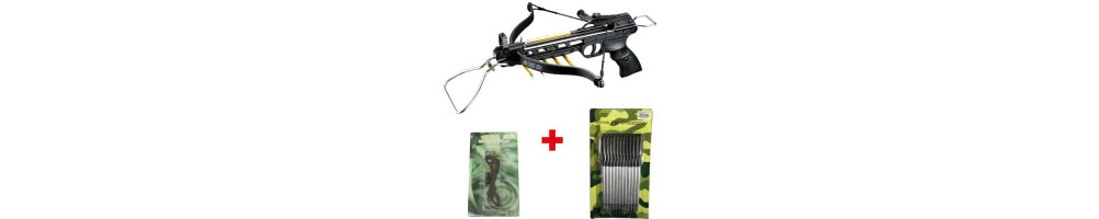 Quick access to the most sold crossbows
